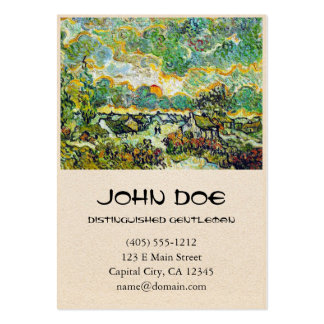 Cottages and Cypresses Reminiscence of the North Pack Of Chubby Business Cards