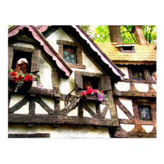 Cottages Postcard