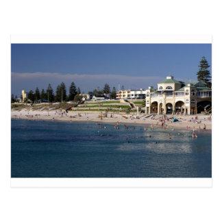 Cottesloe Beach in Perth, Western Australia Postcard