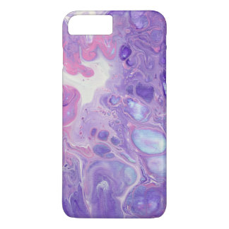 """Cotton Candy 1"" Abstract Painting Phone Case"