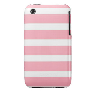 COTTON CANDY a pink stripe design iPhone3 Case