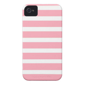 COTTON CANDY a pink stripe design iPhone 4 Case-Mate Case