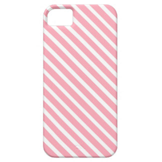 COTTON CANDY a pink stripe design iPhone 5/5S Cover