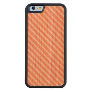 COTTON CANDY! (a pink stripe design) ~ Cherry iPhone 6 Bumper Case