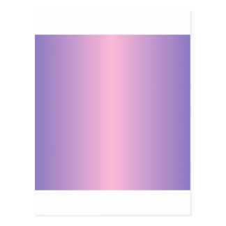 Cotton Candy and Ube Gradient Postcard