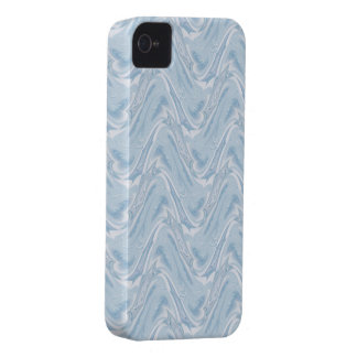 Cotton Candy Blue Abstract iPhone 4 Cover