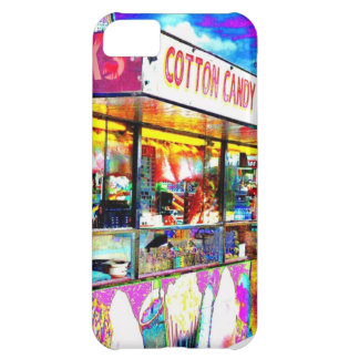 Cotton Candy Carnival Fair Food Photo Phone Case Cover For iPhone 5C