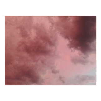 Cotton Candy Clouds Postcard