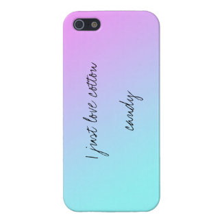 Cotton Candy Cover For iPhone 5/5S