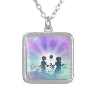 Cotton Candy Edit - Romantic Artwork - Necklace