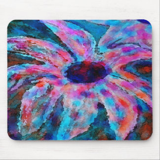 Cotton Candy Flower Mousepad