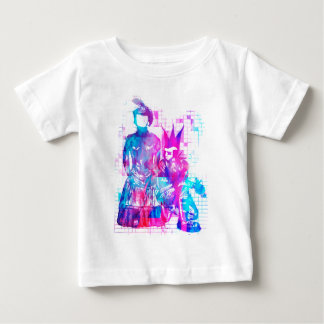 Cotton Candy Goth Girl and Punk Dude Baby T-Shirt