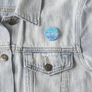 Cotton Candy Joy Button by KitCaseyStudio