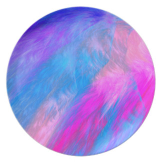 Cotton Candy Party Plates