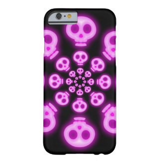 Cotton Candy Pink Skulls 2 Barely There iPhone 6 Case
