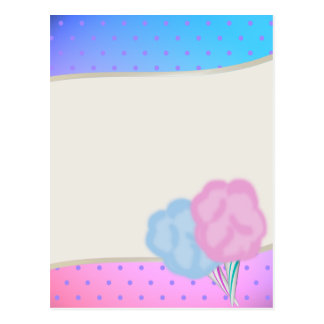 Cotton Candy Post Cards