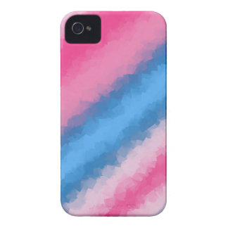 Cotton Candy Rainbow Colors iPhone 4 Case-Mate Cases