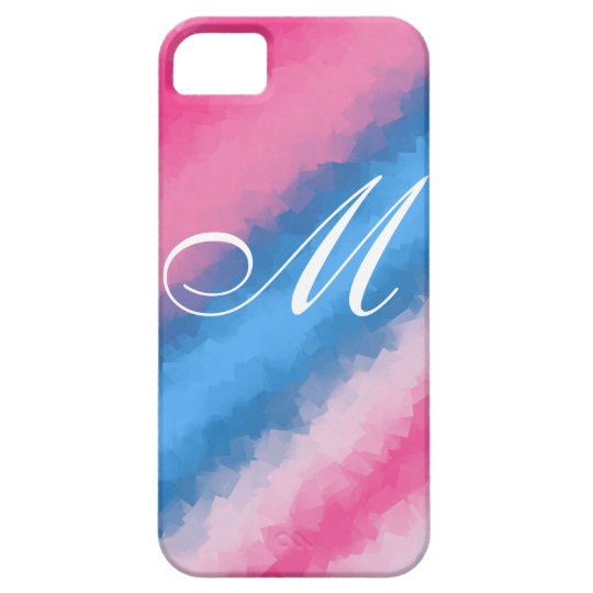 Cotton Candy Rainbow layers iPhone 5 Case