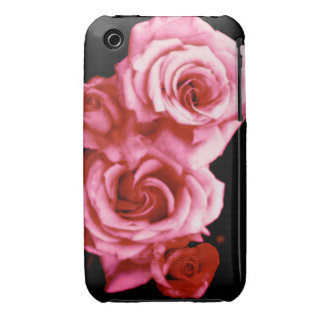Cotton Candy Roses iPhone 3 Case-Mate Cases