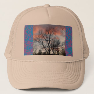 COTTON CANDY SKY TRUCKER HAT