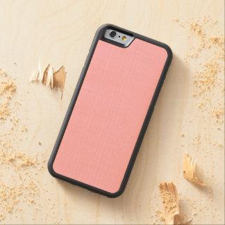 Cotton Candy Solid Color Maple iPhone 6 Bumper Case