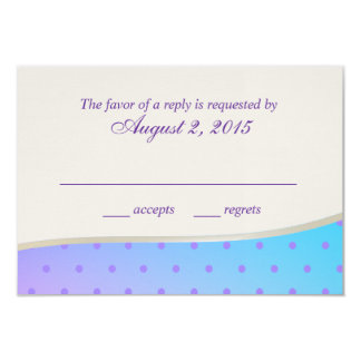 Cotton Candy Sweet RSVP Card