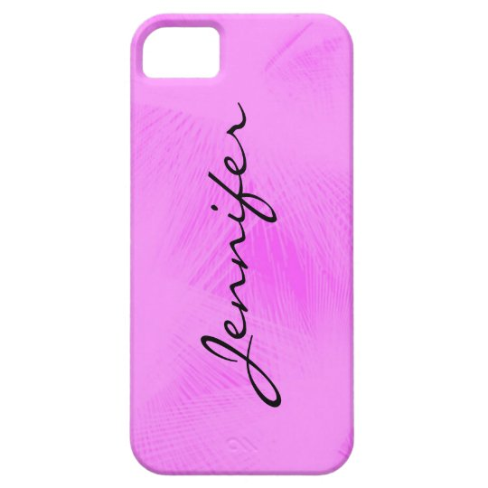 Cotton candy swirl personalised phone case