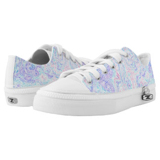 Cotton Candy Swirls Low Tops