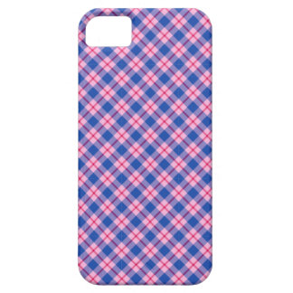 """Cotton Candy"" tartan print Barely There iPhone 5 Case"