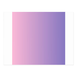 Cotton Candy to Ube Vertical Gradient Postcard