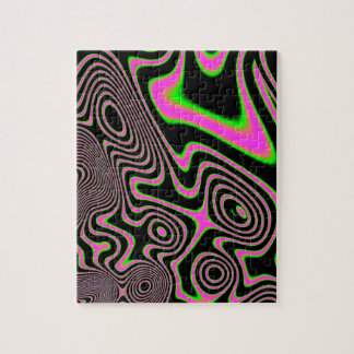 Cotton candy Trippy Abstract Puzzles