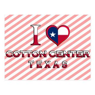 Cotton Center, Texas Postcard
