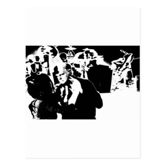 Cotton Club Smooch Postcard