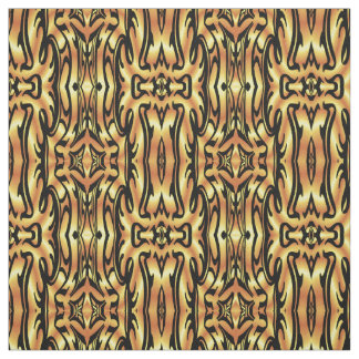 Cotton Fabric-Crafts-Home-Camel/Yellow/Black Fabric