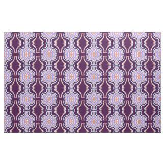 Cotton Fabric -Crafts-Home-Purple/White/Peach/Aqua