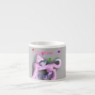 Cotton-Fluff Dragon Espresso Cup