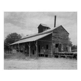 Cotton Gin Poster