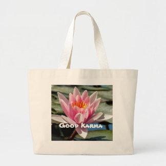 Cotton Jumbo Good Karma Tote Jumbo Tote Bag