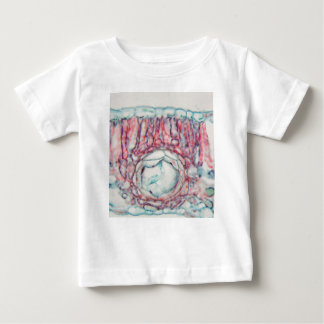 Cotton leaf under the microscope baby T-Shirt