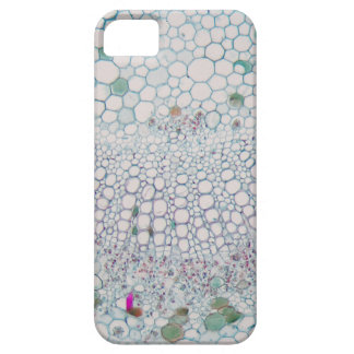 Cotton leaf under the microscope barely there iPhone 5 case