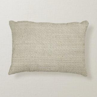 Cotton Linen Background Decorative Cushion