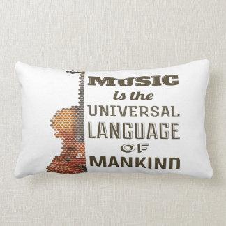 Cotton Throw Pillow, Lumbar Pillow