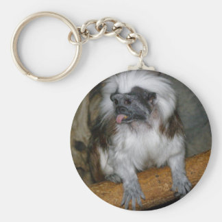 COTTON-TOP TAMARIN KEY RING