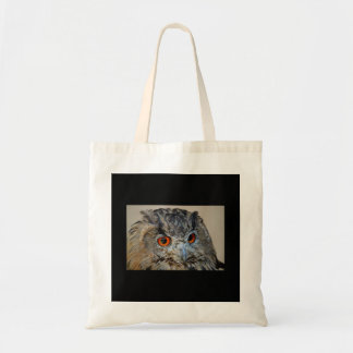 COTTON TOTE BAG WITH OWL