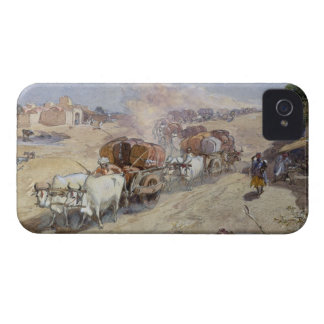 Cotton Transport, India, 1862 (w/c over pencil hei iPhone 4 Covers