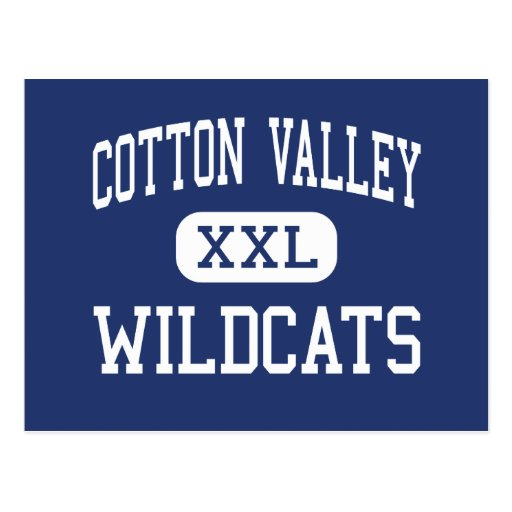 Cotton Valley - Wildcats - High - Cotton Valley Post Card