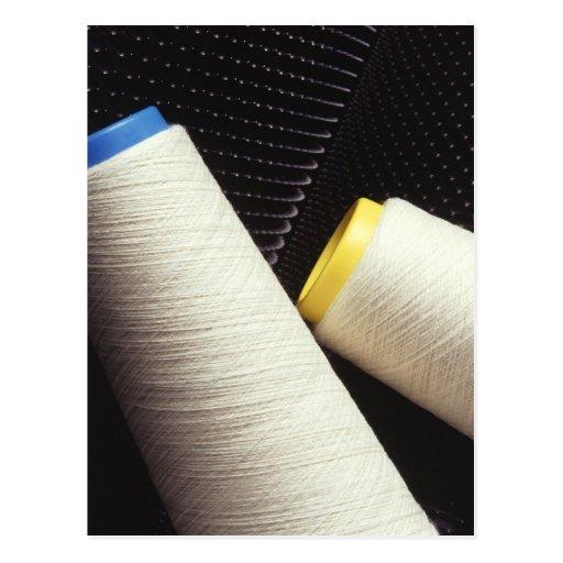 Cotton Yarn Coil Post Card