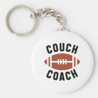 Couch Coach Key Ring