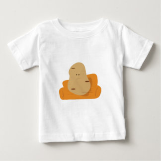 Couch Potato Baby T-Shirt