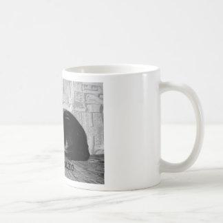"""Couch Potato"" Black Cat Coffee Mug"